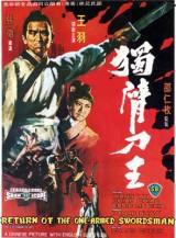 locandina del film LA SFIDA DEGLI INVINCIBILI CAMPIONI - THE RETURN OF THE ONE-ARMED SWORDSMAN