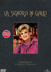 locandina del film LA SIGNORA IN GIALLO - STAGIONE 5