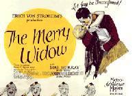 locandina del film LA VEDOVA ALLEGRA (1925)