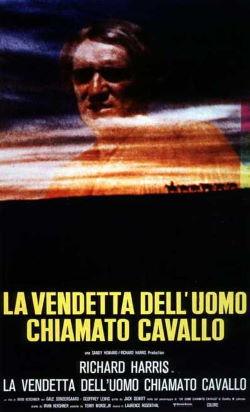 locandina del film LA VENDETTA DELL'UOMO CHIAMATO CAVALLO
