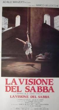 locandina del film LA VISIONE DEL SABBA
