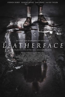 locandina del film LEATHERFACE