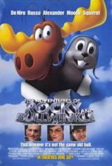locandina del film LE AVVENTURE DI ROCKY E BULLWINKLE