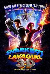 locandina del film LE AVVENTURE DI SHARKBOY E LAVAGIRL IN 3-D