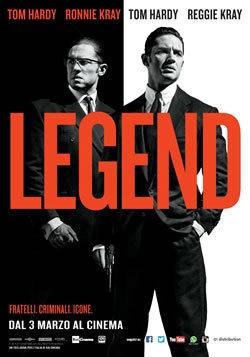 locandina del film LEGEND (2015)