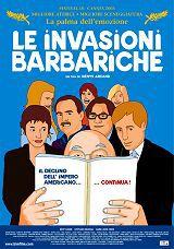 locandina del film LE INVASIONI BARBARICHE