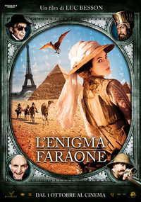 locandina del film ADELE E L'ENIGMA DEL FARAONE