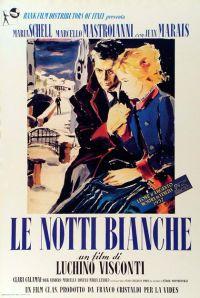 locandina del film LE NOTTI BIANCHE