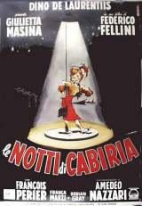 locandina del film LE NOTTI DI CABIRIA