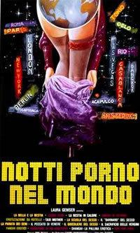 locandina del film LE NOTTI PORNO NEL MONDO