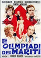 locandina del film LE OLIMPIADI DEI MARITI