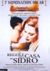 locandina del film LE REGOLE DELLA CASA DEL SIDRO