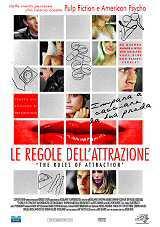 locandina del film LE REGOLE DELL'ATTRAZIONE