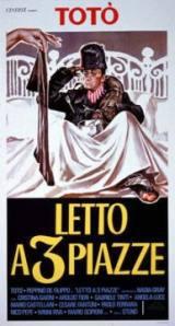 locandina del film LETTO A TRE PIAZZE