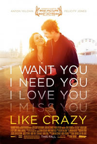 locandina del film LIKE CRAZY