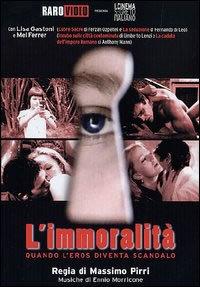 locandina del film L'IMMORALITA'
