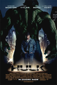 locandina del film L'INCREDIBILE HULK