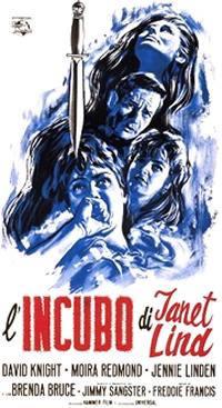 locandina del film L'INCUBO DI JANET LIND