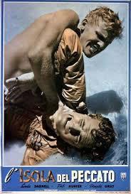 locandina del film L'ISOLA DEL PECCATO (1952)
