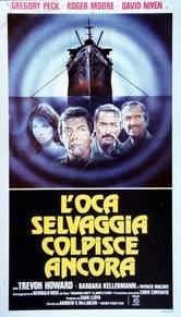 locandina del film L'OCA SELVAGGIA COLPISCE ANCORA