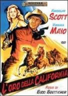 locandina del film L'ORO DELLA CALIFORNIA