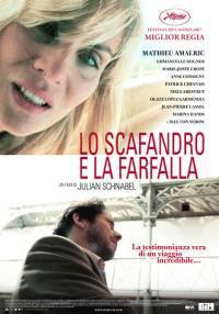 locandina del film LO SCAFANDRO E LA FARFALLA