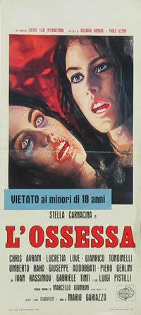 locandina del film L'OSSESSA
