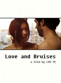 locandina del film LOVE AND BRUISES