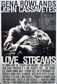 locandina del film LOVE STREAMS - SCIA D'AMORE