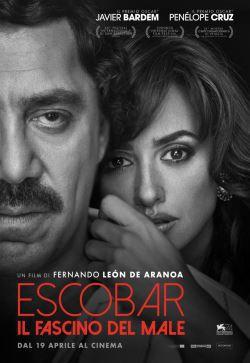 locandina del film ESCOBAR - IL FASCINO DEL MALE