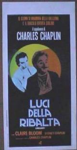locandina del film LUCI DELLA RIBALTA
