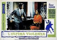 locandina del film L'ULTIMA VIOLENZA