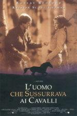locandina del film L'UOMO CHE SUSSURRAVA AI CAVALLI