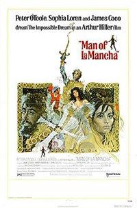 locandina del film L'UOMO DELLA MANCHA