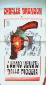 locandina del film L'UOMO VENUTO DALLA PIOGGIA