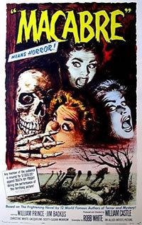 locandina del film MACABRO (1958)