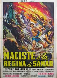 locandina del film MACISTE E LA REGINA DI SAMAR