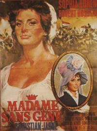 locandina del film MADAME SANS GENE