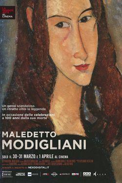 locandina del film MALEDETTO MODIGLIANI