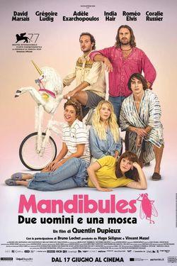 locandina del film MANDIBULES - DUE UOMINI E UNA MOSCA