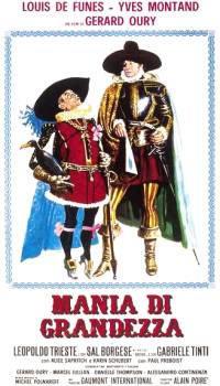 locandina del film MANIA DI GRANDEZZA