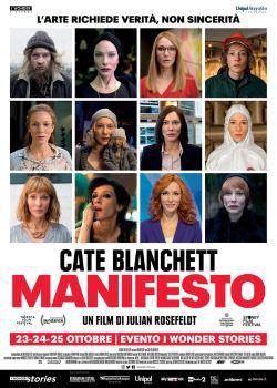 locandina del film MANIFESTO