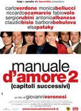 locandina del film MANUALE D'AMORE 2, CAPITOLI SUCCESSIVI
