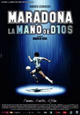 locandina del film MARADONA LA MANO DE DIOS