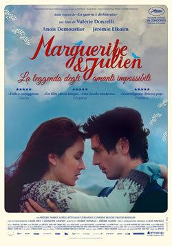 locandina del film MARGUERITE ET JULIEN - LA LEGGENDA DEGLI AMANTI IMPOSSIBILI