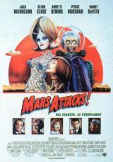locandina del film MARS ATTACKS