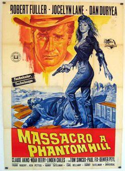 locandina del film MASSACRO A PHANTOM HILL