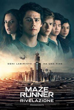 locandina del film MAZE RUNNER: LA RIVELAZIONE