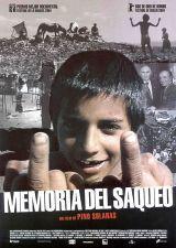 locandina del film LA MEMORIA DEL SACCHEGGIO