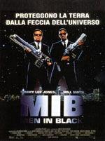 locandina del film MEN IN BLACK